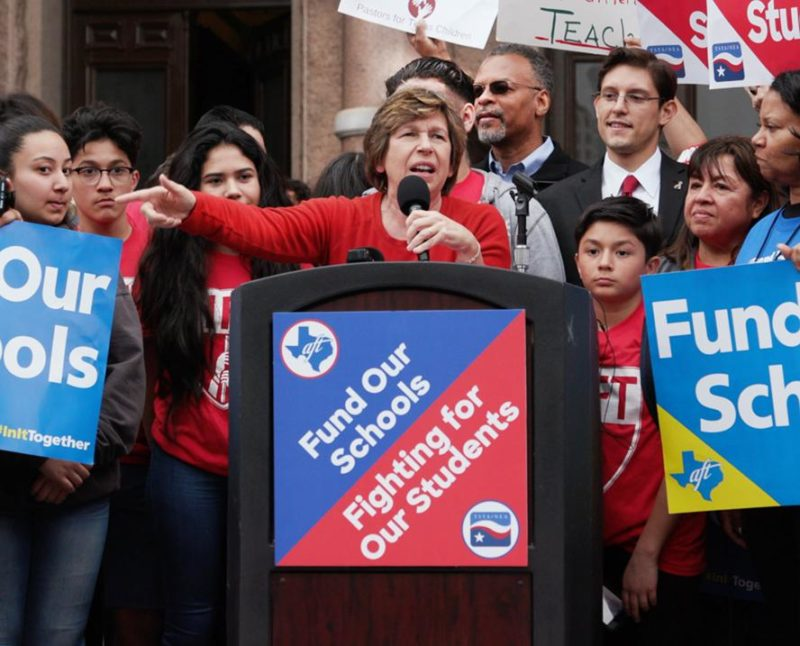 Twenty-one states still spend less on public education than before the Great Recession: American Federation of Teachers President Randi Weingarten