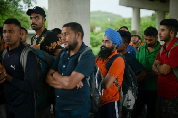 """""""Así sean de Marte"""" vamos a regresar a los migrantes violentos, advierte el Comisionado Nacional de Migración de México"""