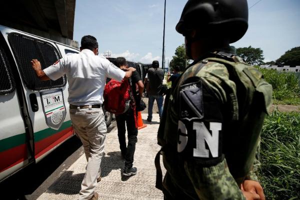 """Sin precedente: México realiza """"repatriación"""" de 311 ciudadanos de India"""