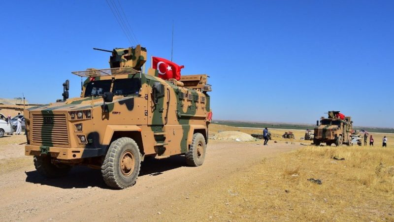 Videos: Inicia incursión armada turca en el norte de Siria contra milicias kurdas y el Estado Islámico