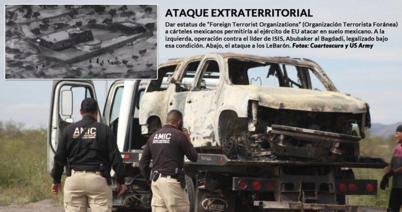 """Video: Congresistas de EU piden estatus de """"terroristas"""" a cárteles para combatirlos en suelo mexicano"""