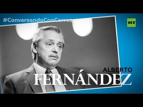 """""""Tal vez México y Argentina puedan construir un eje que reviva de vuelta la unidad de Latinoamérica"""": Alberto Fernández"""