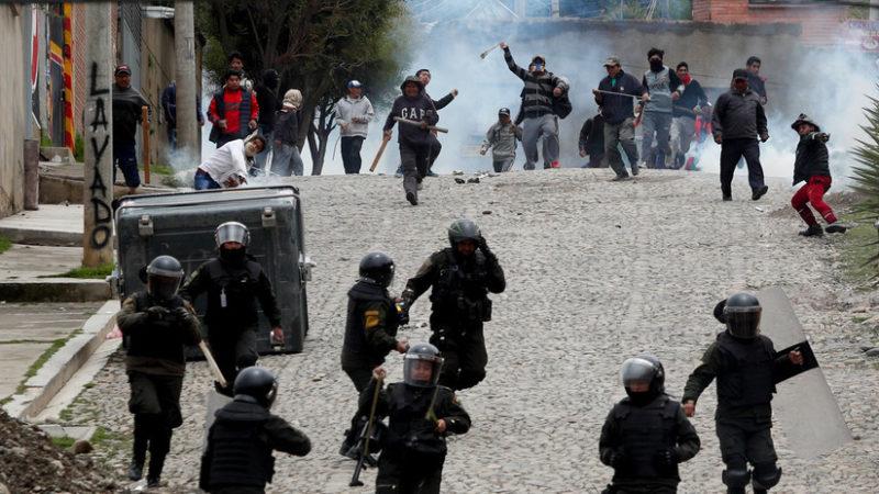 Video: Miles de indígenas marchan hacia La Paz para denunciar el golpe de Estado contra Evo Morales