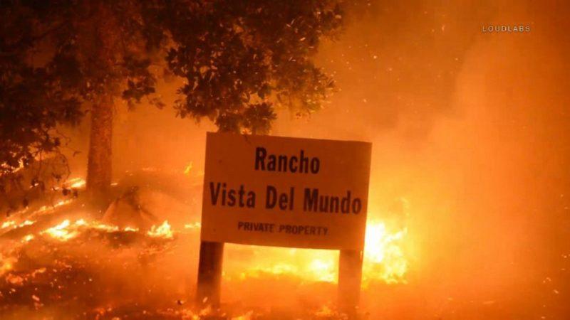 Incendio Cave, contenido en un 70%, ya quemó 3,126 hectáreas de bosque, en Santa Bárbara