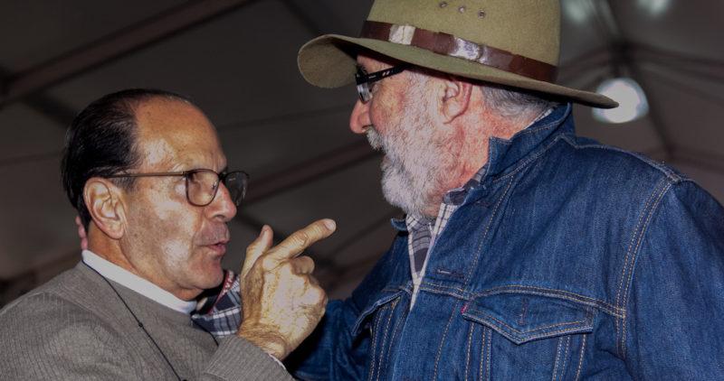 El padre Solalinde le reclama a Sicilia por ir en contra de AMLO; es un buen poeta, pero un mal político, dice