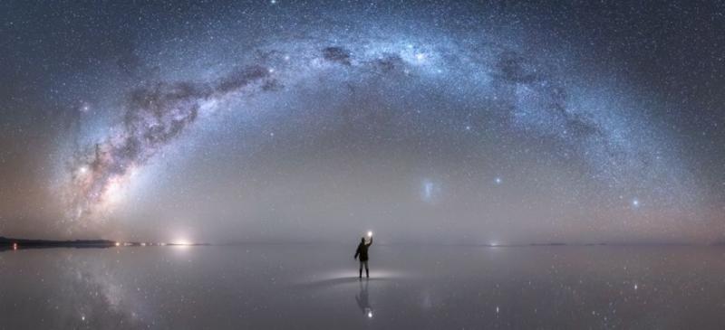 Fotos:  La astrofotografía que muestra la Vía Láctea y fue reconocida por la NASA
