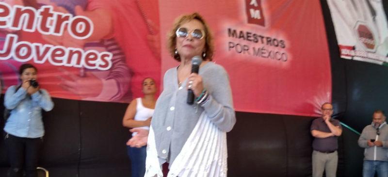 Regresa Gordillo con partido nuevo; recibiría financiamiento público en 2020