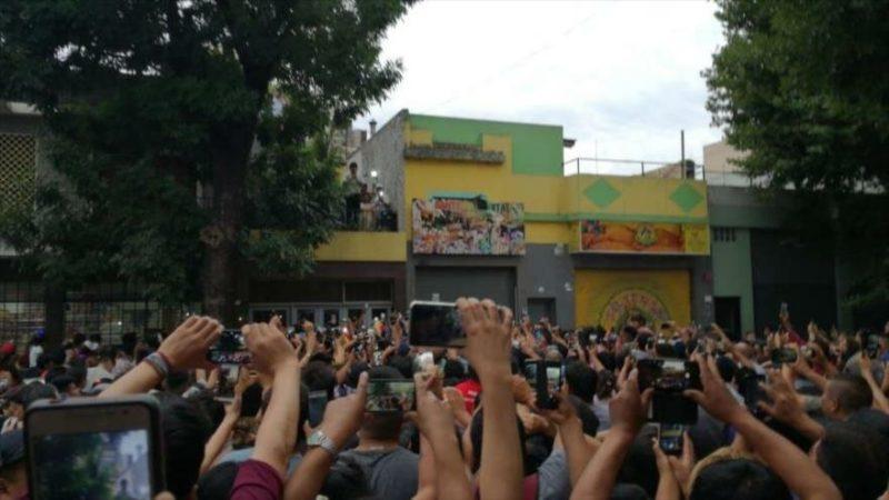 Evo Morales lidera primera reunión electoral del MAS en Argentina; el gobierno de facto lo quiere aprehender