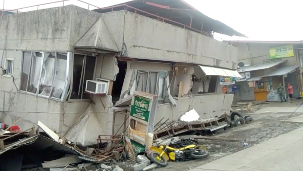 Videos: Terremoto de 6.8 grados en Mindanao, Filipinas, reportan un muerto