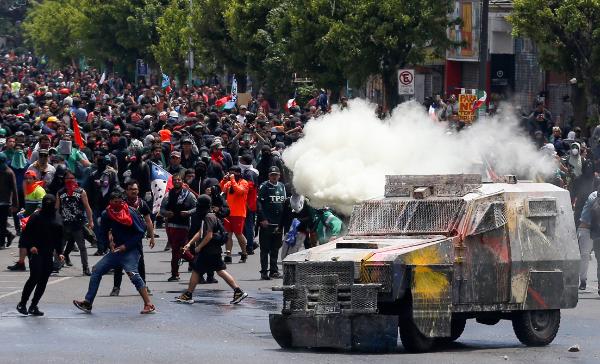 """Pompeo: EU ayudará a los """"gobiernos legítimos"""" de América Latina a evitar que las protestas """"se conviertan en sublevaciones"""""""