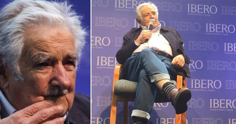 """""""La sociedad patriarcal cede; la mujer sustituirá con ventaja al hombre"""": Pepe Mujica en México"""