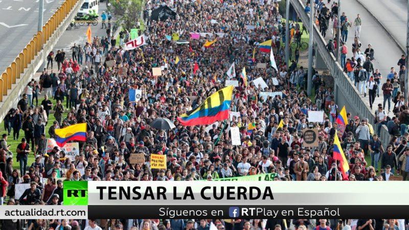 Videos: Cientos de miles en la tercera huelga general en Colombia contra el 'paquetazo' del gobierno de Duque