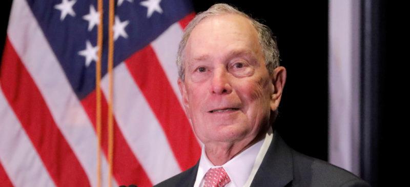 Exalcalde de Nueva York, Michael Bloomberg, dispuesto a gastar mil millones de dólares para derrotar a Trump