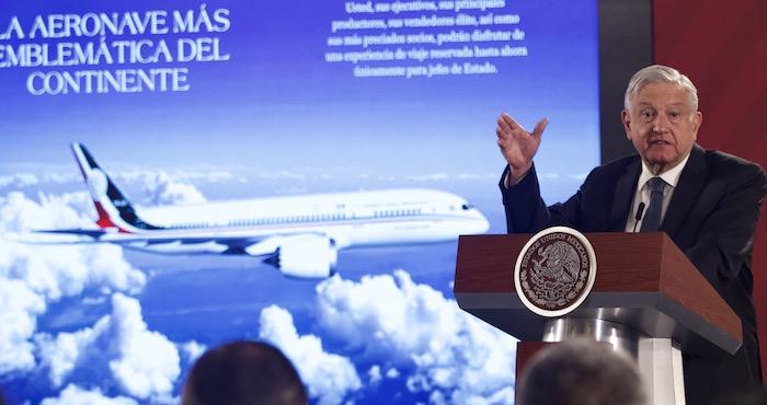 Un avión cargado de infamia