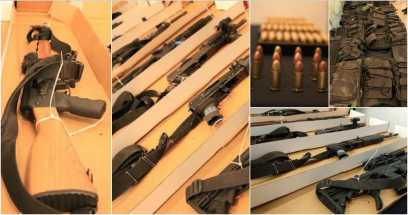 Autoridades detienen a 24 miembros del Cartel Jalisco Nueva Generación y Santa Rosa de Lima en Guanajuato; aseguran arsenal