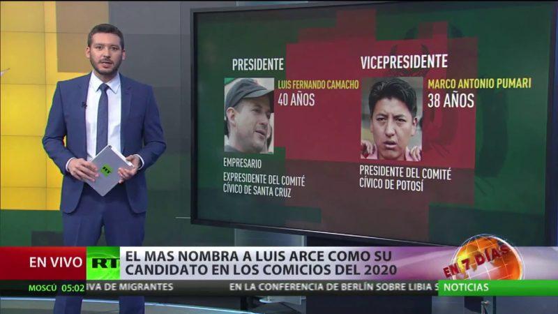Videos: Evo Morales y dirigentes del MAS anuncian el binomio para las elecciones del 2020