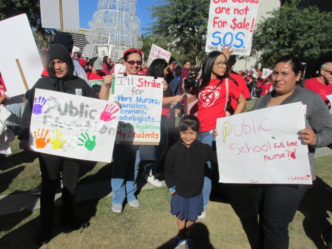 Video: Unión entre docentes y padres, garantía para fortalecer la educación pública y enfrentar a privatizadores, legado de la huelga de maestros angelinos de hace un año