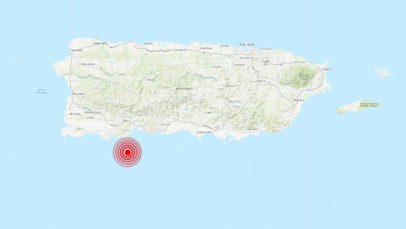 Terremoto de 6 grados en Puerto Rico; no se reportan víctimas ni daños de consideración