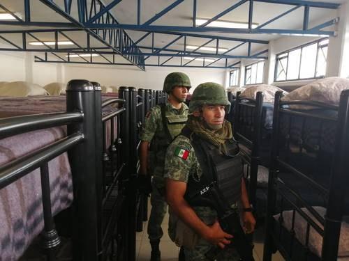 Video: Inaugura AMLO en Jiquilpan el primer cuartel de la Guardia Nacional