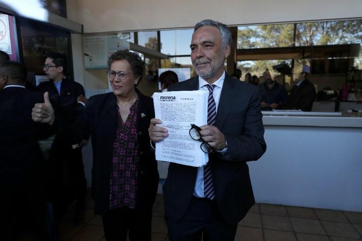 Valida TEPJF a Ramírez Cuéllar como presidente interino de Morena