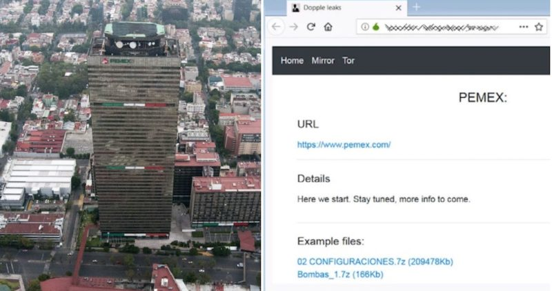 Presuntos hackers que atacaron a Pemex amagan con exhibir datos si el Gobierno no paga un rescate