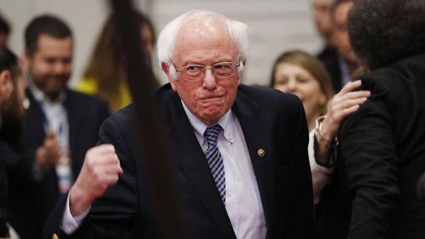 Bernie Sanders lidera intención de voto con 32% de las preferencias, según encuestas