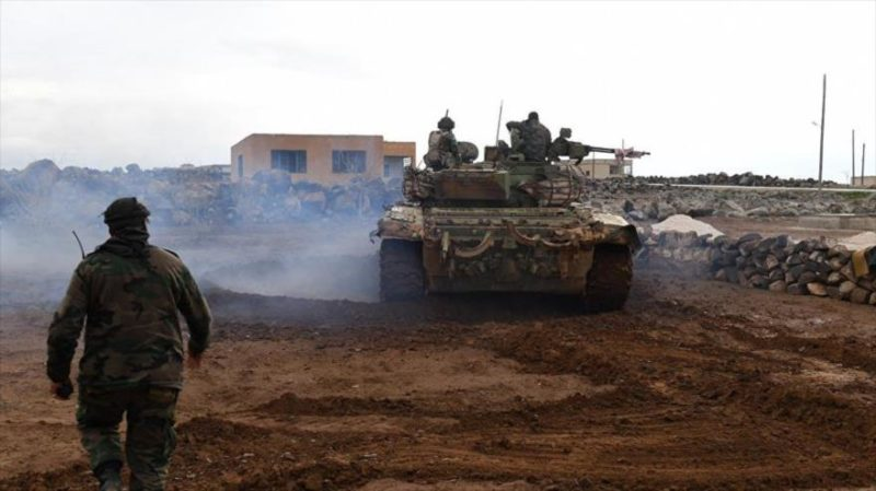 Siria mata a 545 terroristas en su ofensiva en Idlib y Alepo