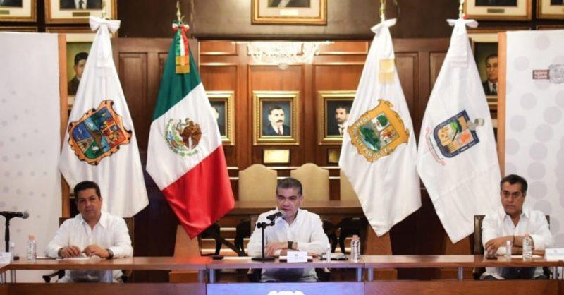 Gobiernos de Coahuila, Nuevo León y Tamaulipas piden a AMLO cerrar la frontera con EU por COVID-19