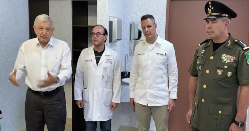 Video:  Ejército y Marina dispondrán de 10 hospitales para atender casos de coronavirus
