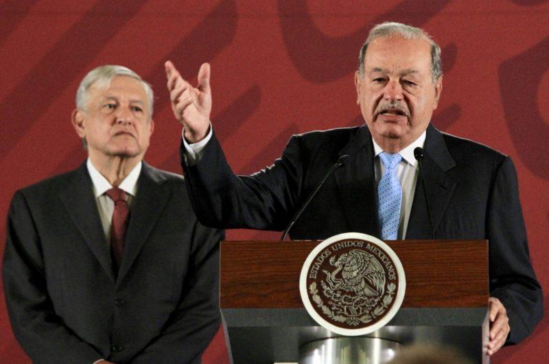 Grupo México donará hospital para casos de COVID-19: AMLO; celebra el apoyo de Coppel y Slim, quien aportó mil millones de dólares en equipo médico
