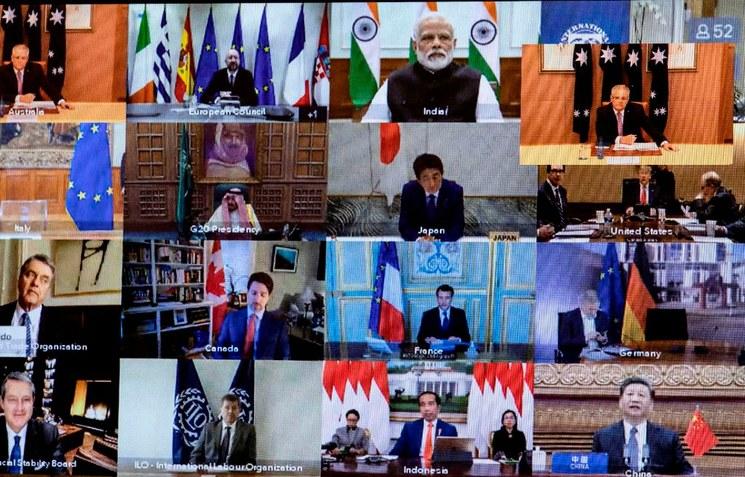 "G20 inyectará 5 billones de dólares a economía global; promete ""frente común"""