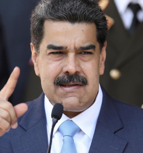 EE.UU. presenta cargos por narcoterrorismo y corrupción contra Maduro. Ofrece 15 millones de dólares por atraparlo