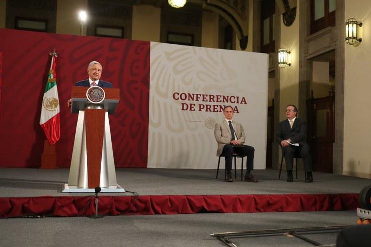 """Video: Pide AMLO al G-20 hacer """"tregua"""" económica ante emergencia"""