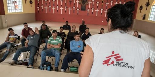 "Médicos Sin Fronteras critica que EU regrese a México a solicitantes de asilo para evitar COVID-19; ""amenazan la salud de miles"", dice"