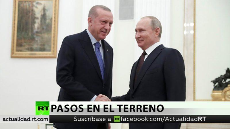 Videos: Putin y Erdogan encuentran soluciones a la crisis en Idlib