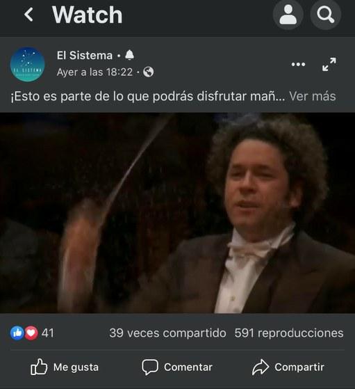 Gustavo Dudamel dirigió la novena sinfonía de Beethoven vía Youtube