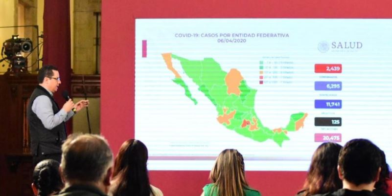 Video: Adultos mayores los más afectados por Covid, van 125 decesos: Salud. Hay 2 mil 439 casos confirmados en el país