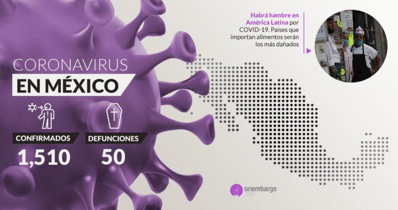 Video: Van 50 muertos por COVID-19 en México; autoridades llaman a personal médico a unirse a lucha