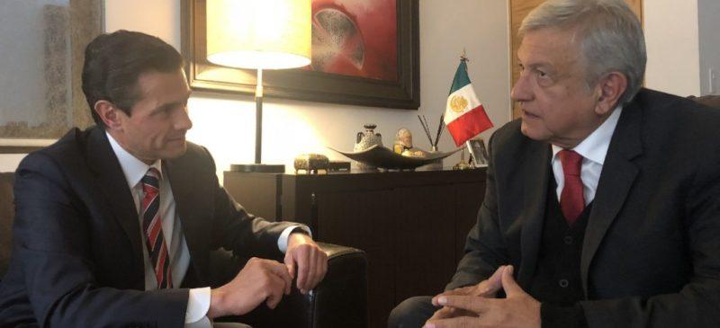 """Videos: Niega AMLO denuncia contra Peña """"desde el Ejecutivo"""". Univision asegura que el ex presidente ya es investigado"""