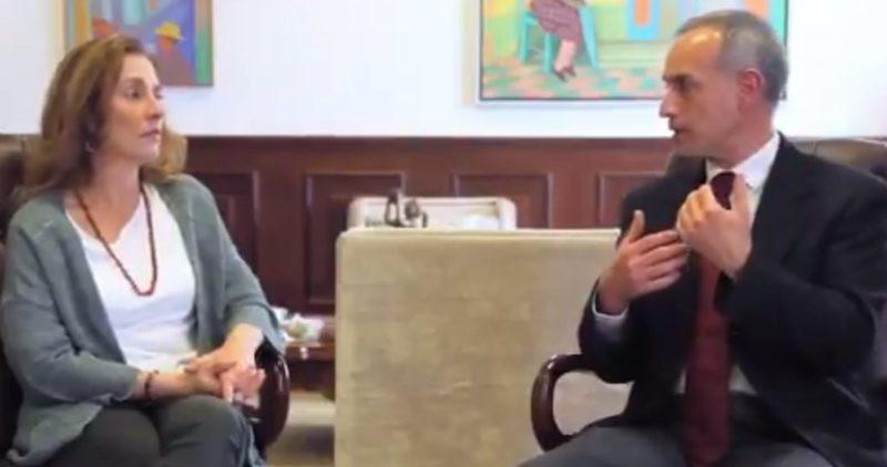 Videos: López-Gatell y Gutiérrez Müeller dan consejos para informar a los niños sobre el COVID-19