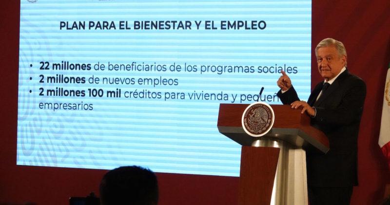 Quienes critican plan económico quieren banderazo de salida para restaurar la corrupción: AMLO
