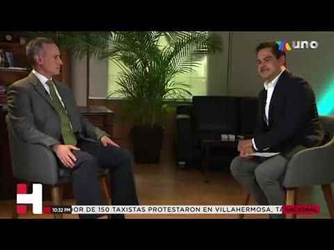 ¿Disculpa o justificación? VIDEO de Javier Alatorre, de TV Azteca, con el Subsecretario López-Gatell