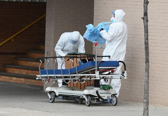 EU: Agencia de desastres pide al Pentágono 100 mil bolsas para cadáveres