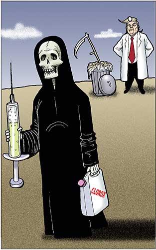 LAS RECETAS DEL DR. TRUMP