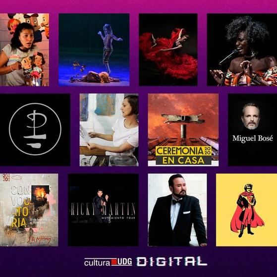 Cultura UDG presenta plataforma de contenidos digitales con acceso al arte mundial