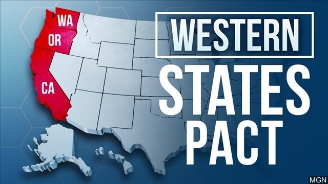 Colorado y Nevada se unen a California, Oregon y Washington en el Pacto de los Estados del Oeste para luchar contra el COVID-19