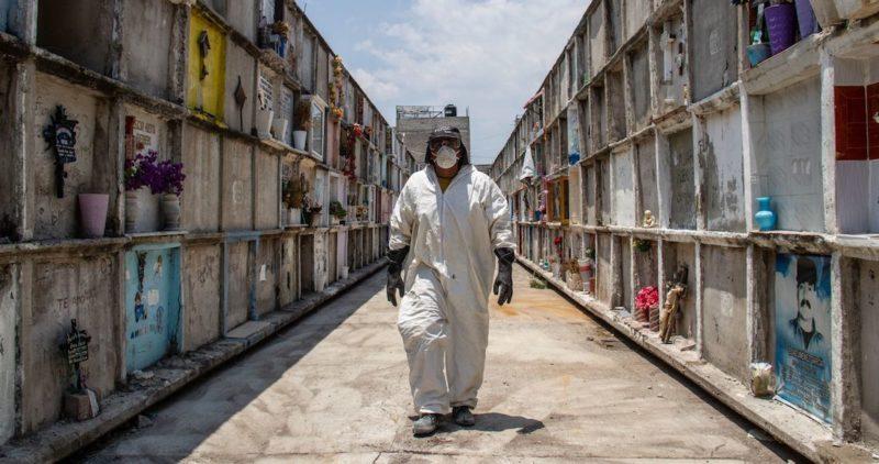 Con 6 mil 510, México entra al top 10 de países con más muertes por COVID-19; en América es el tercero