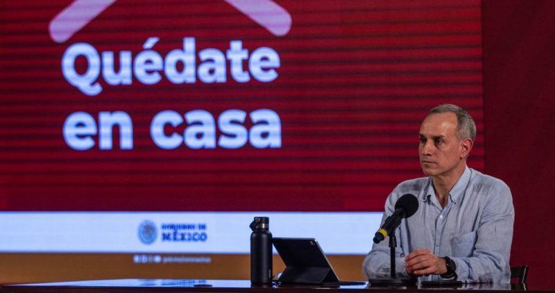 López Gatell: Una predicción general es que el SARS-CoV-2 se quedaría por siempre o por muchos años aquí