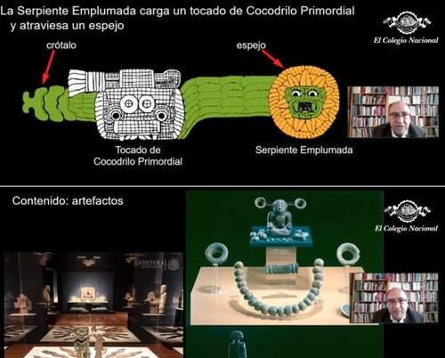 El Colegio Nacional ofrece a internautas el México antiguo a detalle