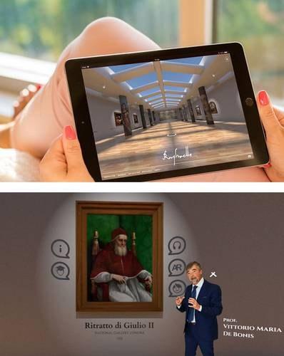 Museo virtual dedicado a Rafael Sanzio, para pasar el encierro